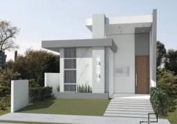 Casa em construção com 3 dormitórios à venda, 95 m² - Malvinas