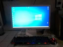 Computador LG moderno modelo 22v280 branco