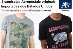 Kit Com 2 Camisetas Aeropostale Tam M ou G Novas, Trazidas Dos Eua