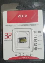 Cartão de Memória MicroSD 32GB Novo