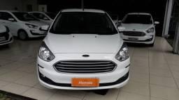 Ford Ka 1.5 sedan manual - 2019 -branco - IPVA 2021 pagto