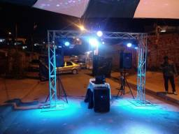 DJ SOM ILUMINAÇÃO TELÃO. A PARTIR DE R$ 250
