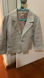 Casaquinho/blazer de linho