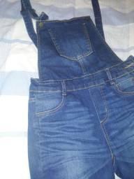 Vende-se macacão jeans