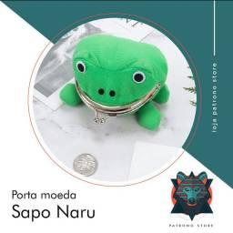 Porta moeda sapo - naruto