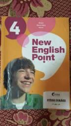 Livro Inglês - New English Point 4 - 9º Ano