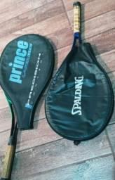 Par de raquetes com capa