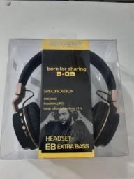 Fone Microfone Bluetooth Sports Headset