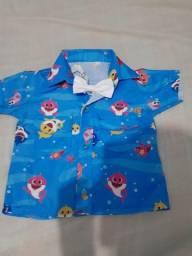 Camisa baby shark