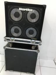 Caixa Hartke 410xl Semi-Novo - Para Contra Baixo com Hard Case marca For-Case -KGB
