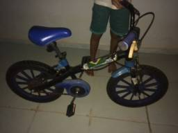 Bike teen boy azul-Cacoal