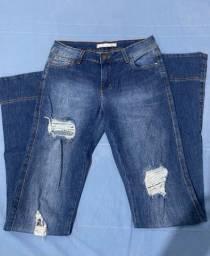Título do anúncio: Calça Jeans Flaire Destroyd