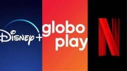 Título do anúncio: Netflix Globoplay Disneyplus