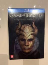 Título do anúncio: Box Blu-ray Game of Thrones. Da 1 a 5 temporadas completas
