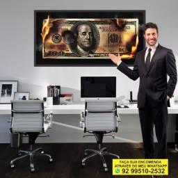 Título do anúncio: 100 Dólares * Quadro decorativo