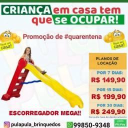 Promoção aluguel Escorregadores por 7, 15 e 30 dias em sua casa e área infantil