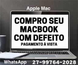 MacBook // iPhone // Com defeito e quebrado