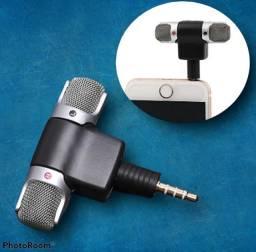 Mini microfone pra celular esterio super som grande promoção