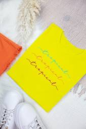 Blusa Feminina, T-shirt 100% algodão fio 30.1 penteado