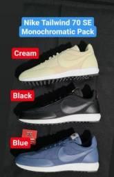 Título do anúncio: Tenis Nike Tailwind 79 Monocromatico Pack - 3 pares tamanho 43
