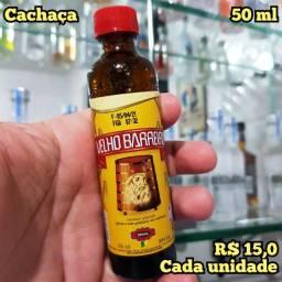 Título do anúncio: Miniatura Cachaça Velho Barreiro - 50ml - Original, Lacrada e Licenciada