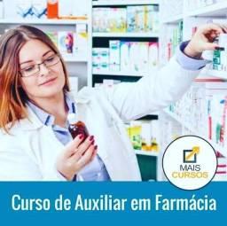 Título do anúncio: Curso de Auxiliar de farmácia com certificado.