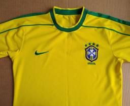 Camisesa Seleção Brasileira 1998