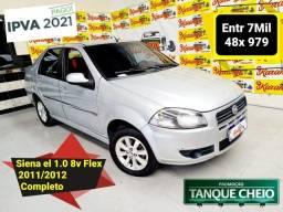 Título do anúncio: Fiat Siena EL 1.0 Fire Flex 2012 Completo