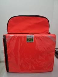 Título do anúncio: Mochila Bag Delivery Laranja Entregador com Isopor Motoboy