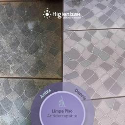 Limpa piso antiderrapante e limpa pedras