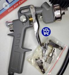 Título do anúncio: Pistola Spray e Compressor KIT - Faço entrega