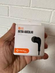 Título do anúncio: Fone de ouvudo p2 intra auricular lacrdo