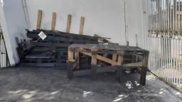 estrado  de madeiras