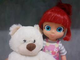 Título do anúncio: Lote Boneca da Ruby + mochila