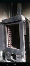 Forno turbo a lenha industrial