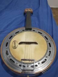 Banjo rozine Emerson brasa Luthier em maple (faia)