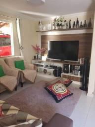Casa nascente em condomínio para venda possui 140 metros quadrados com 4 quartos,2 suítes