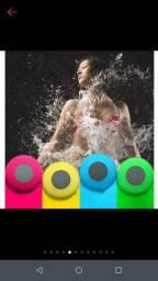 Caixa de Som Banheiro Prova D Água Bluetooth Android E Ios