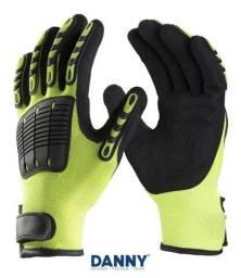 Luva De Segurança P/ Impactos E Corte Da43800 Danny Extreme<br><br>
