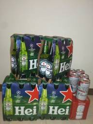 Heineken 330ml e Budweiser 269ml