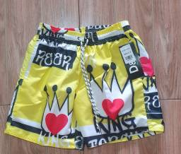 shorts praia top