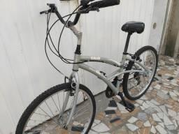 Título do anúncio: Bicicleta Alumínio 26 Caloi 100 Sport,21V,kit Shimano,Freios V -Brake! Aceito-Propostas