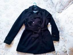 Casaco alongado com etiqueta + colete novo