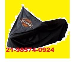Título do anúncio: Capa Termica Para Cobrir Moto Harley Davidson Com Logo Gg Ex