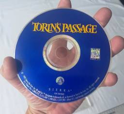 Raridade - Jogo Antigo de PC - Original - Torins Passage - 1995 - Mídia Física - Usado