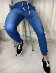 Título do anúncio: calça jeans 36 ao 54 jogger