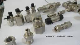 Título do anúncio: Conexões em aço inox marca Swagelok e Detroit, vários modelos e bitolas