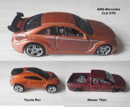 Hot Wheels Lote com 3 miniaturas 1:64