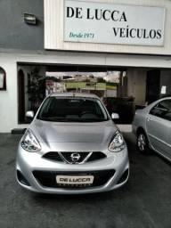 Nissan/March s  1.0 Flex Completo Cor Prata 87.700 KM