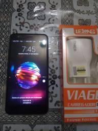 LG K11 Plus + Carregador